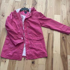 Pink Gap Kids rain coat